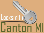 Locksmith Canton MI  logo